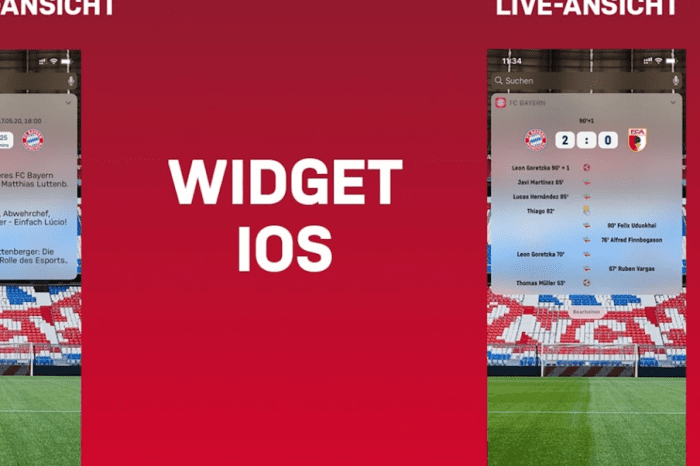 Bayern launcht App-Update
