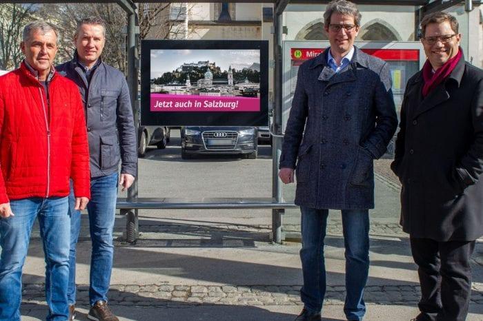 Infoscreen: 40.000 neue Seher in Salzburg
