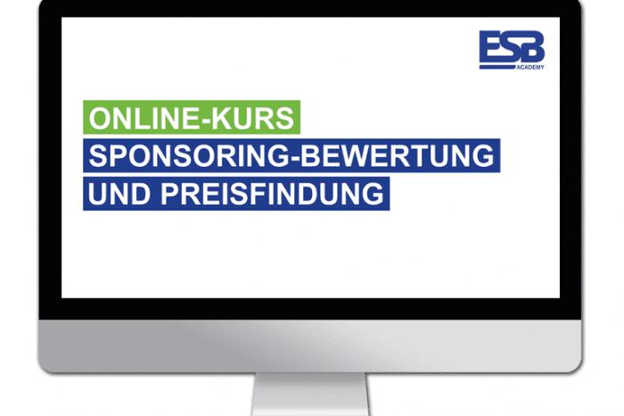 Online-Kurs: Sponsoring-Bewertung und Preisfindung [Partner-News]