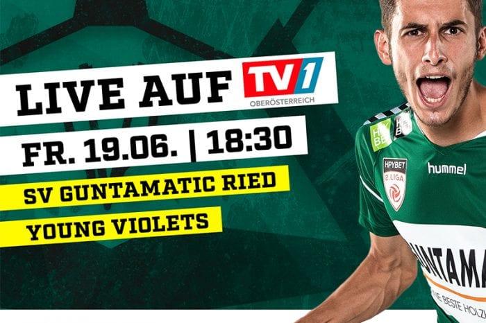TV1 Oberösterreich überträgt erstmals Spiel der 2. Liga
