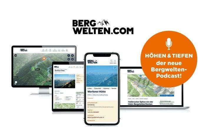Bergwelten launcht zum fünfjährigen Jubiläum neue Website und Podcast