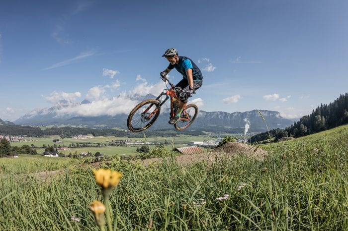 Neue Trails und Bike-Schlepplift in St. Johann in Tirol