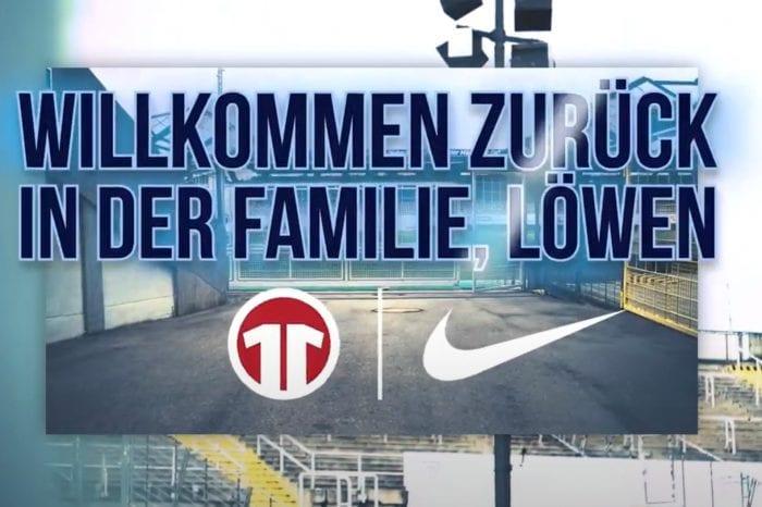 Nike kehrt zum TSV 1860 München zurück