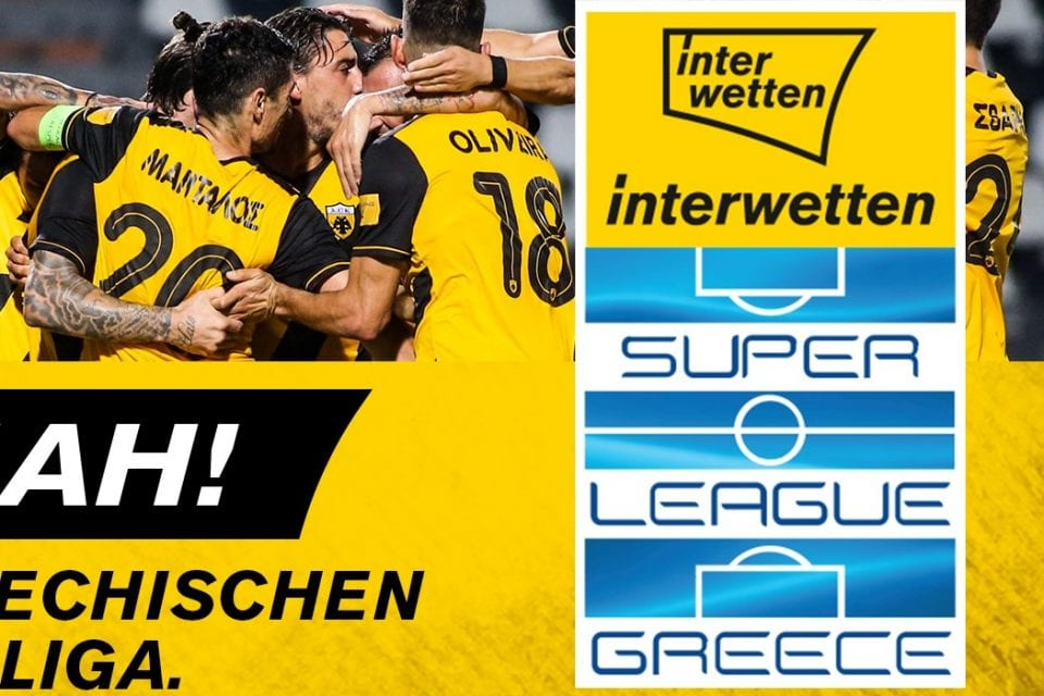 Interwetten wird Naming-Right-Partner der griechischen Bundesliga