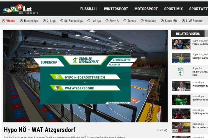 Österreichs Top-Handballerinnen bei LAOLA1 – Umfassende Kooperation mit der WHA bis 2025 [Partner-News]