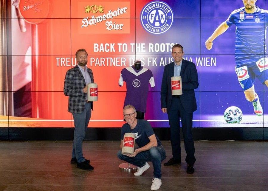 Schwechater neuer Bier-Partner der Austria