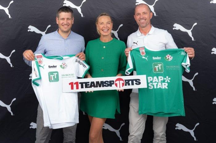 WSG Tirol geht Partnerschaft mit Puma und 11teamsports ein