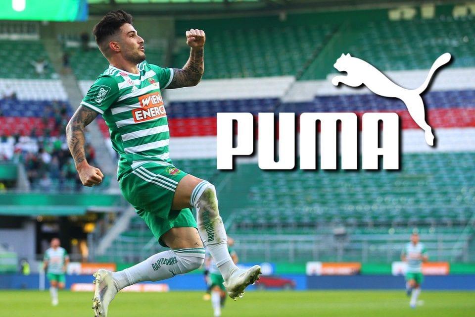 Puma folgt Adidas: Rapid trägt ab 2021 Katze [Exklusiv]