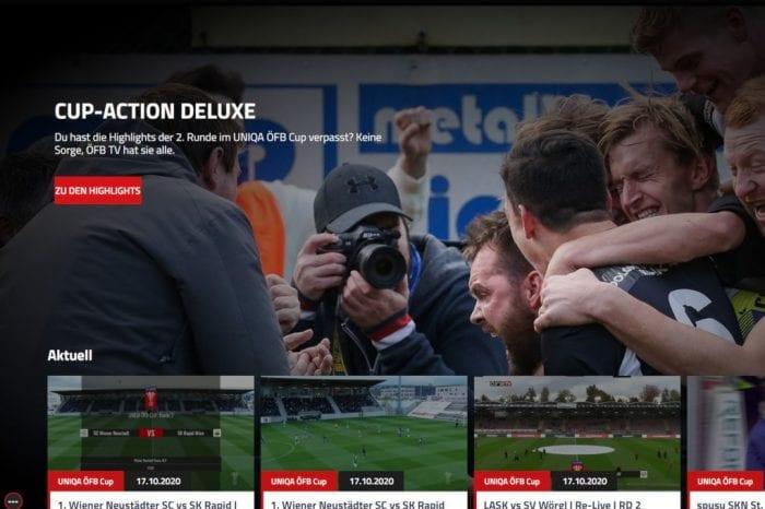 Uniqa ÖFB Cup lässt ÖFB TV-Zugriffe in neue Höhen steigen [Exklusiv]