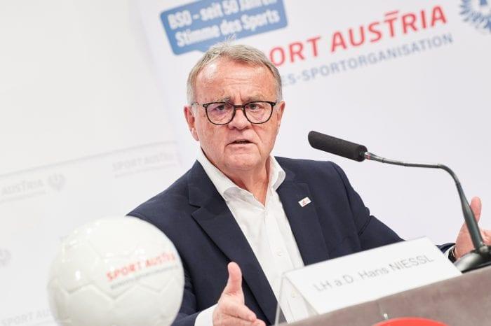 Sport-Austria-Präsident Hans Niessl zieht Einjahres-Bilanz